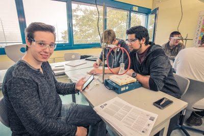 Chemieunterricht Weidigschule